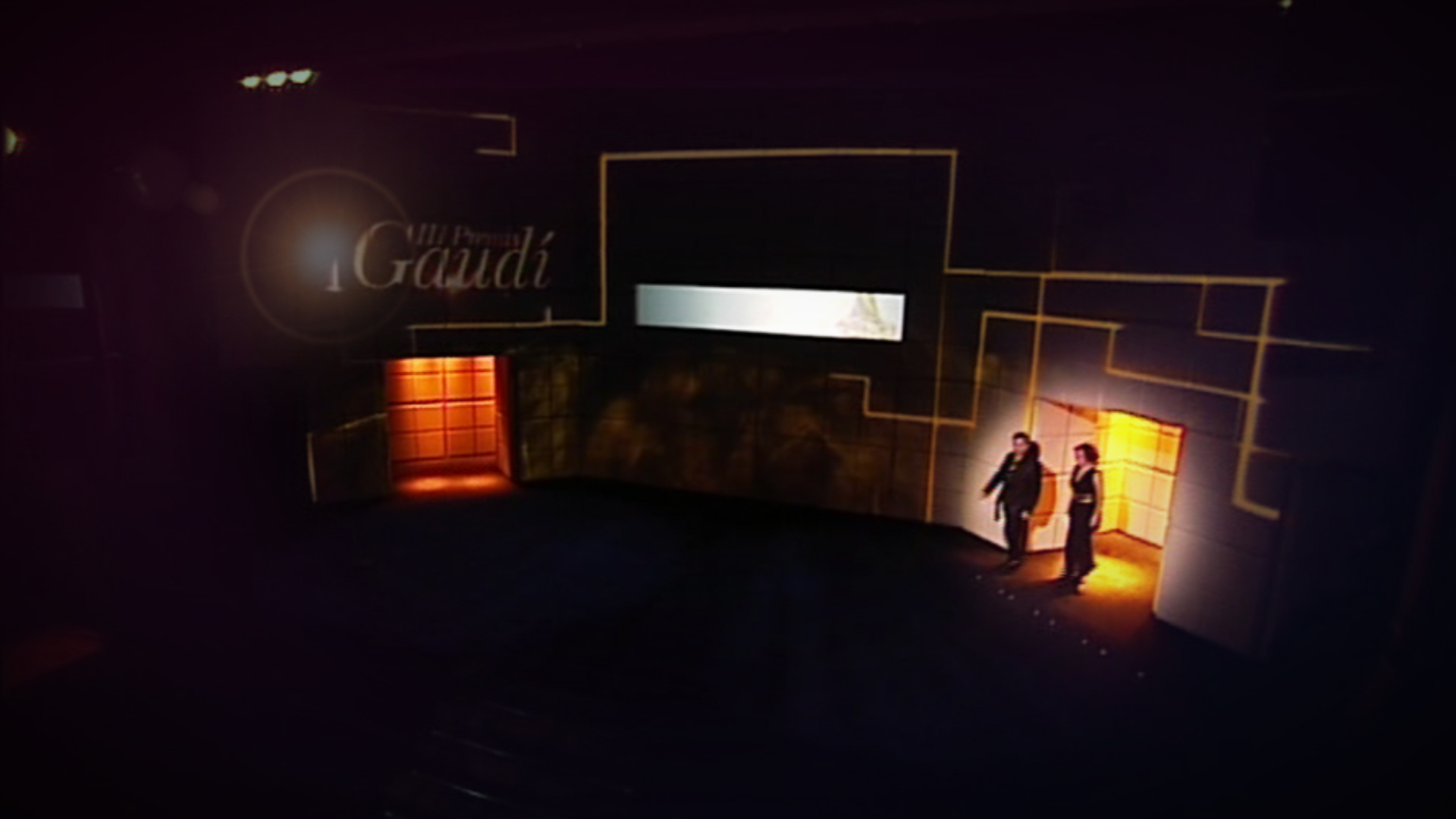 gaudí awards video mapping