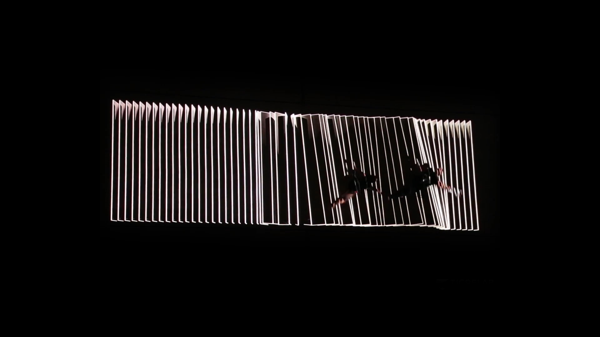 vertical dance projection marató