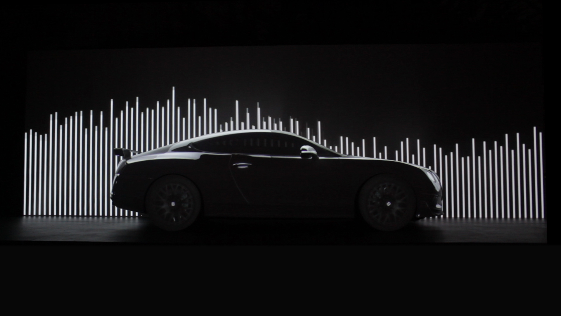 bentley projection mapping california
