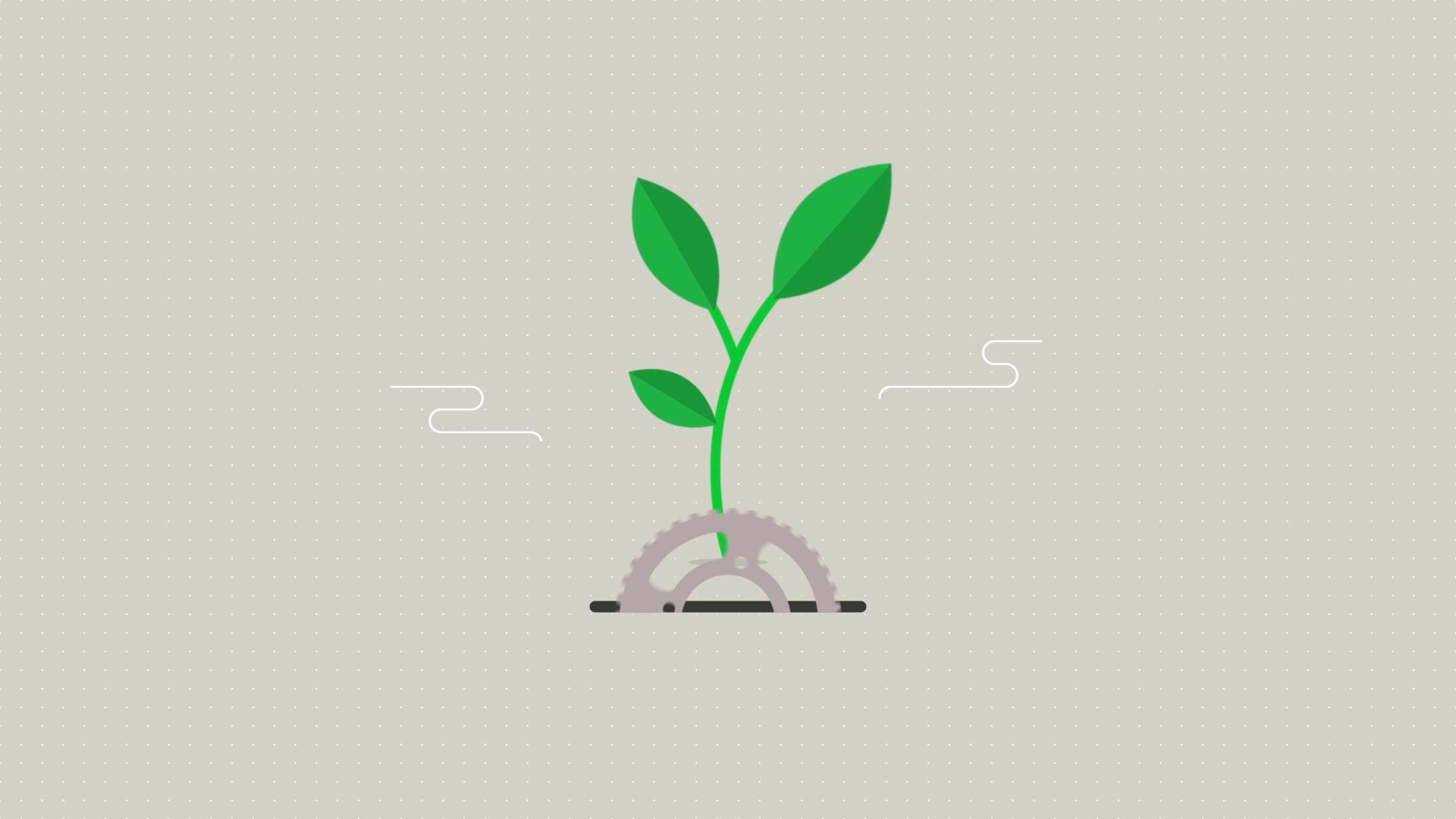 infographic animation recycle noshan