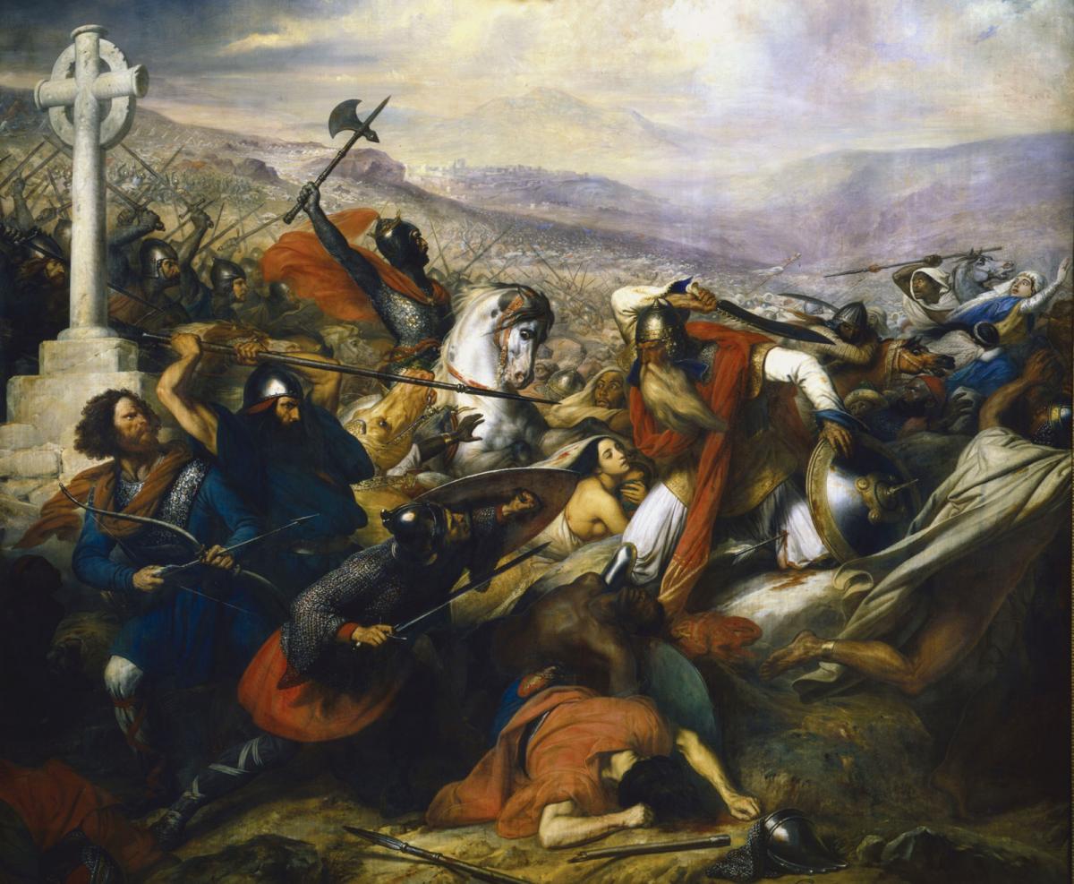 Bataille de Poitiers Steuben_Tigrelab