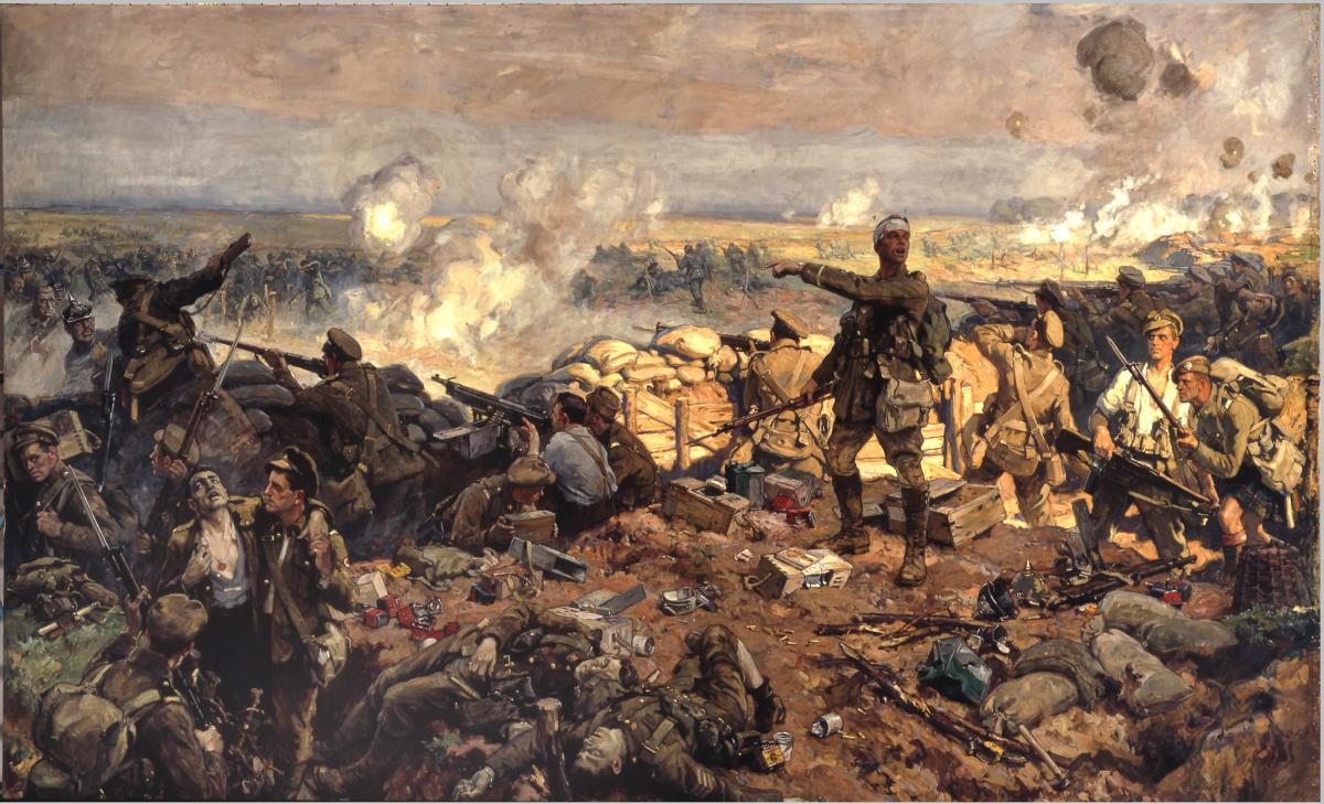 The Second Battle of Ypres Richard Jack_Tigrelab