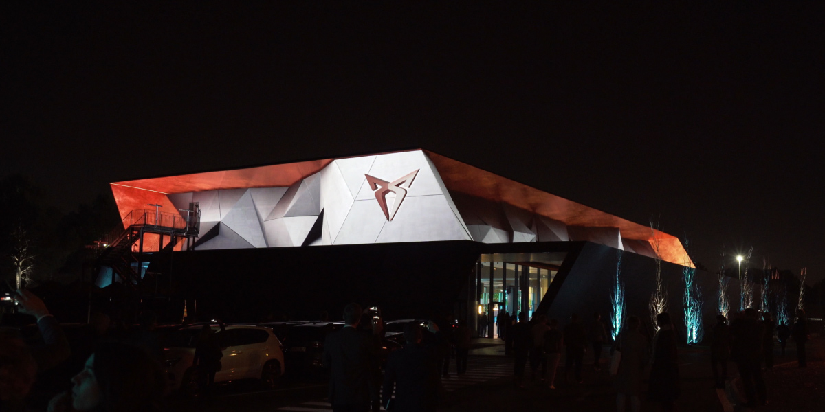 Cupra HQ - Projection Mapping